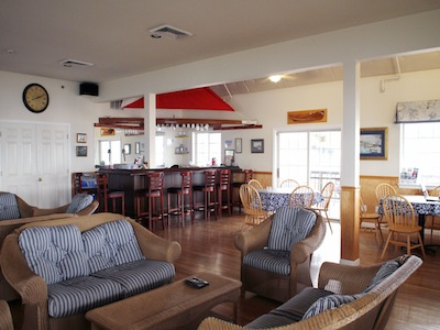 Clubhouse interior