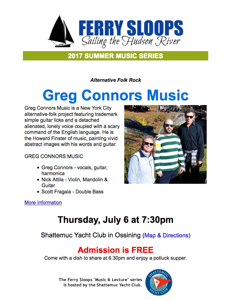 Greg Connors music