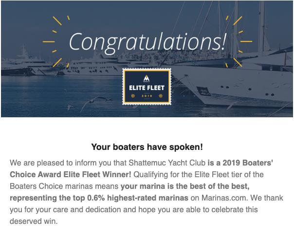 Boat's Choice Award 2019  Elite